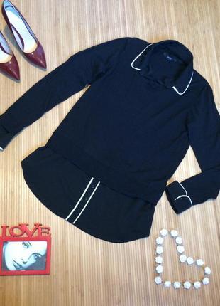 Стильный свитерок- обманка,размер xl