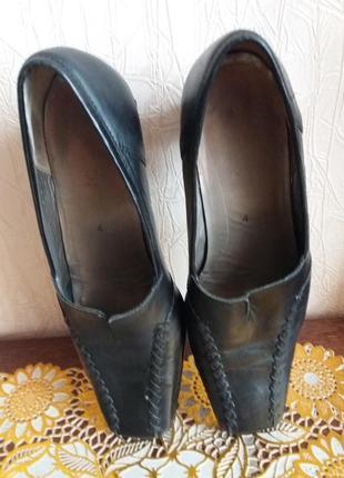 Кожаные туфли gabor--37р