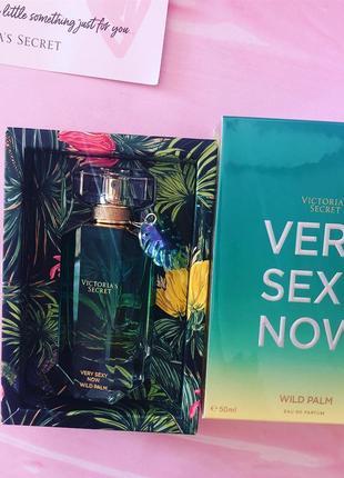 Парфюмированая вода victoria's secret very sexy now wild palm