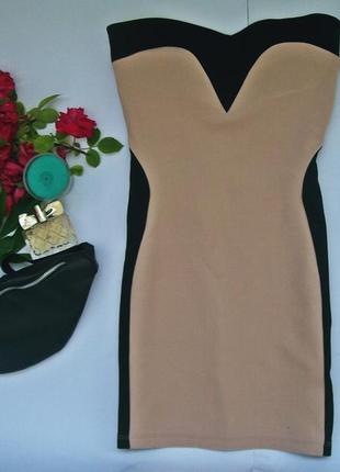 Платье бюстье miss selfridge