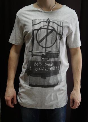 Удлиненная футболка от bershka