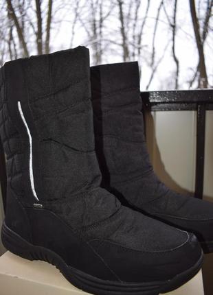 Зимние ботинки сапоги мембранные ten tex р. 46 30 см дутики сноубутсы