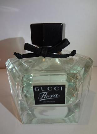 Gucci flora by gucci eau fraiche туалетная вода, спрей 75 мл tester оригинал
