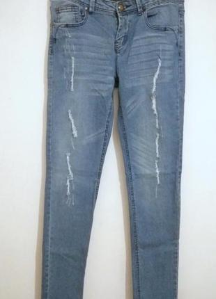 Классные джинсы skinny denim co