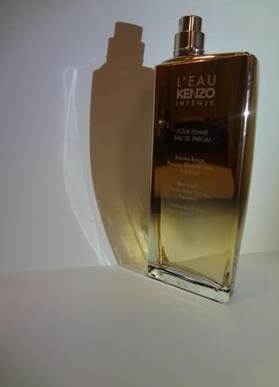 L´eau kenzo intense pour femme eau de parfum парфюмерная вода 100 мл тестер оригинал