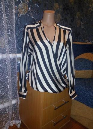 Блуза полоска
