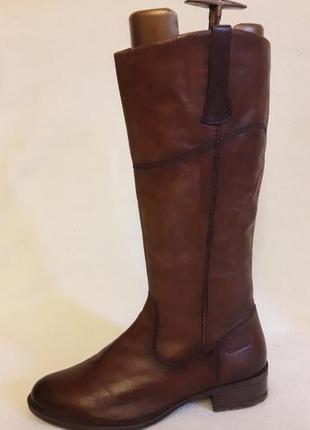 Натуральные кожаные сапоги фирмы tamaris ( германия) р. 41 стелька 27 см