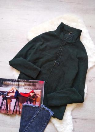 Бомбер, ветровка, легкая куртка цвета бутыль от tom tailor