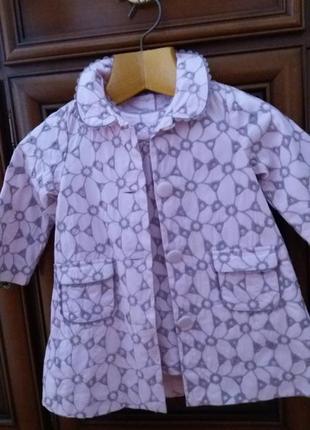 Стильное легкое пальто с платьем maggy and zoe(сша) на 18 месяцев