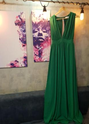 Изумрудное платье lost ink