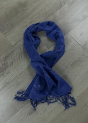 Дорогой шарф из натуральной шерсти