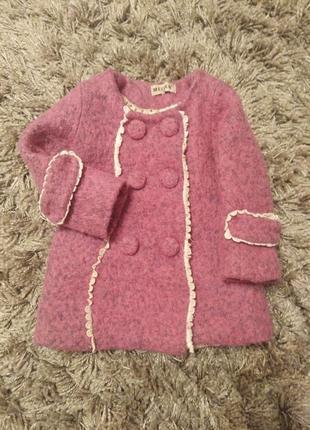 Шикарне пальто для модниці.