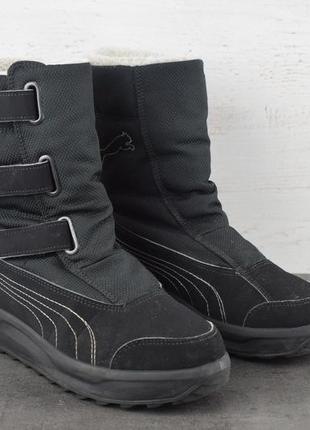 Сапоги/ботинки зимние puma gore-tex. размер 35