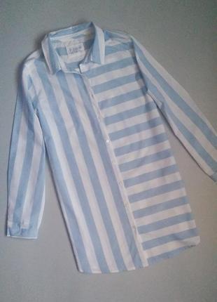 Ночная рубашка в полоску