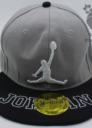 Кепка реперка jordan