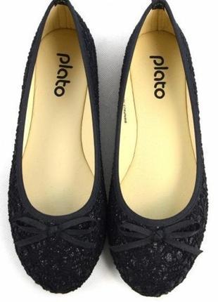 Туфли туфельки балетки тапки размер 39
