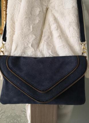 Cтильная замшевая сумочка emma & jad