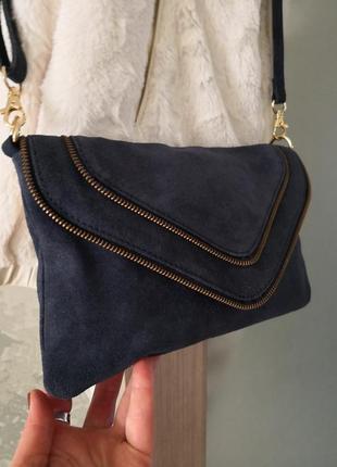 Cтильная замшевая сумочка emma & jad2