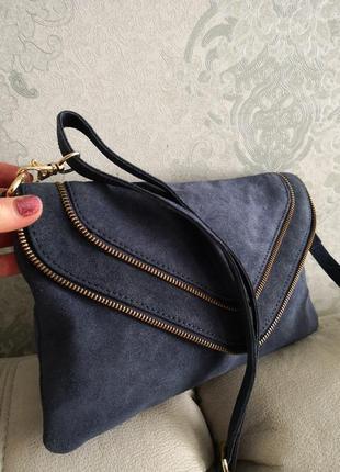 Cтильная замшевая сумочка emma & jad3