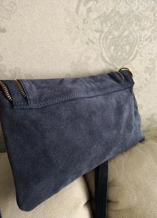 Cтильная замшевая сумочка emma & jad4