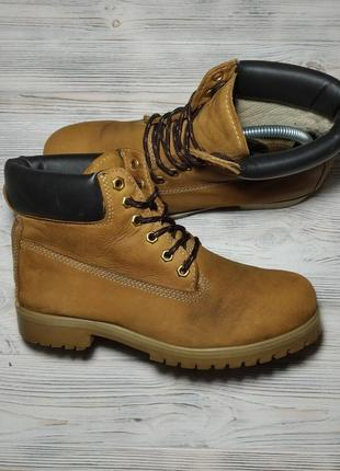 Кожаные ботинки landrover оригинал ! 41 размер