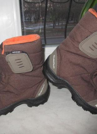 Зимние термо ботинки quechua 30 р