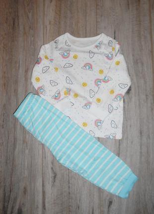 Пижамы george 12-18 мес/80-86 см