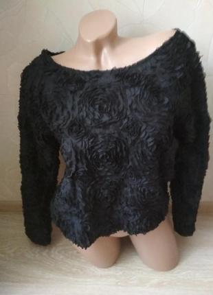 Крутая кофточка блуза свитшот