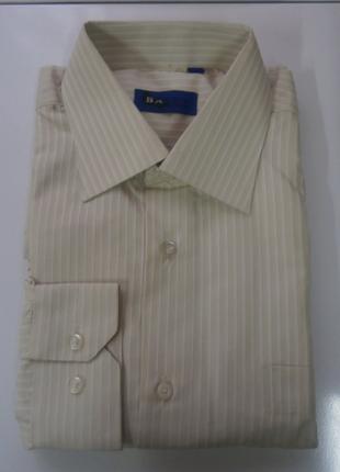 Классическая мужская рубашка bagen с длинным рукавом р 40-41