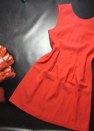 Алое платье y.a.s, р-р 8