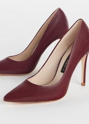 Кожание туфли zara