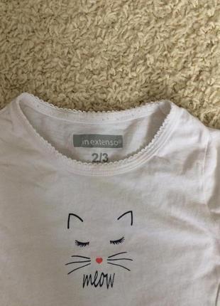 Летняя футболка на 12-18 мес