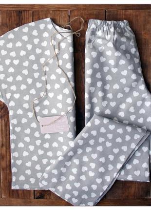 Пижама из 100% хлопка