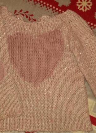 Красивая кофточка свитерок фирмы f&f