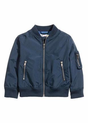 Крутая куртка бомбер фирмы h&m