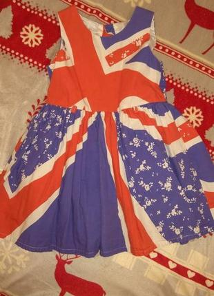 Красивое платье на девочку 1-2 фирмы next