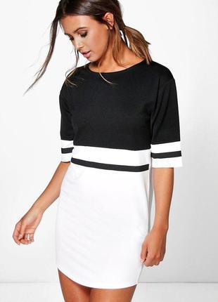 Платье-футболка спортивного стиля, boohoo petite