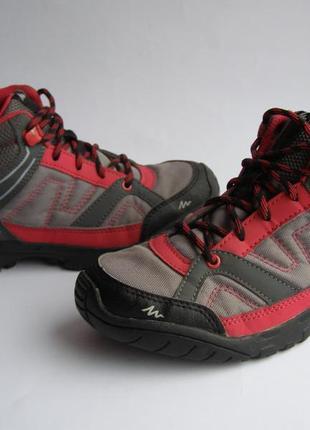 Деми ботинки quechua, р.35– 22 см.