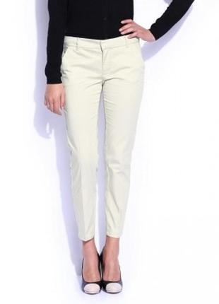 Стильные белые укороченные штаны брюки от mango размер xs