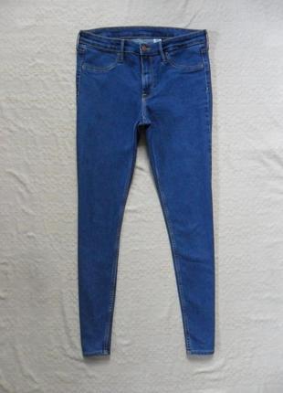 Стильные джинсы скинни h&m, 12 размер