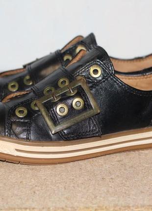 Стильные туфли, мокасины gabor  36-37 разм