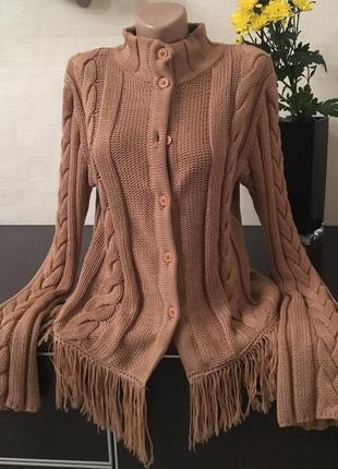 Кофта свитер кардиган