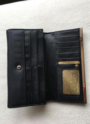 Большой брендовый кошелек клатч river island англия4