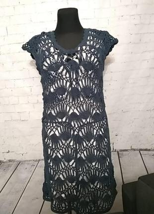 Пляжне бавовняне  плаття south 12uk