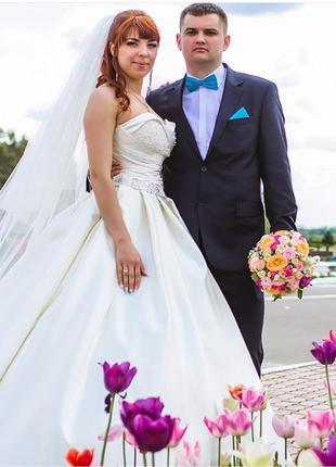 Свадебное платье от укршик