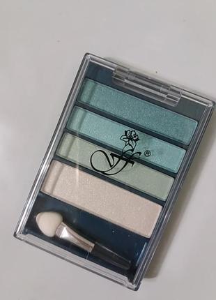 Компактная палитра теней 4 цвета