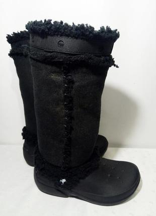 Сапоги crocs (крокс) nadia boots, 38р(w7),стелька24,5см, отличное состояние