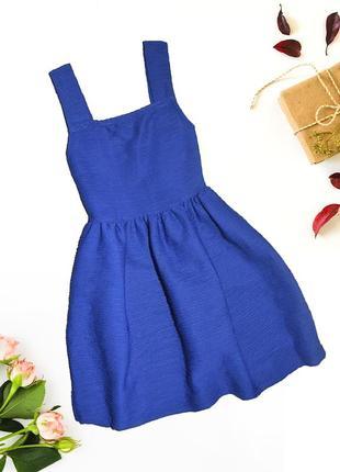 Ультрамариновое платье influence