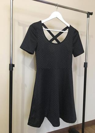 Милое платье в горох
