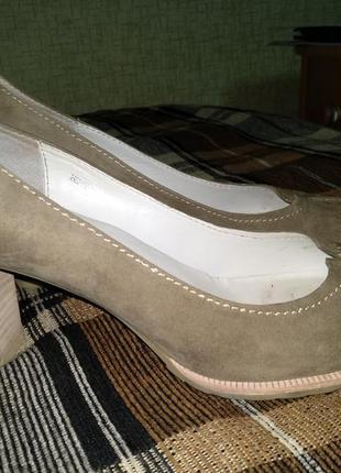 Крутые замшевые туфли carlo pazolini 26,8 см